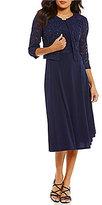 Jessica Howard Petite Lace Jacket Dress