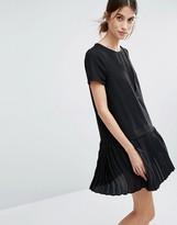 Vero Moda Pleated Drop Waist Dress