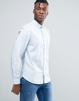 Bellfield Shirt In Washed Cotton In Regular Fit