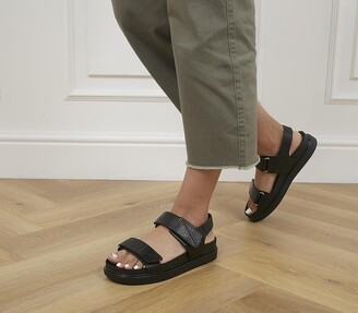Vagabond Erin Two Strap Sandals Black
