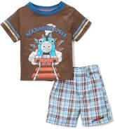 Children's Apparel Network Thomas the Tank Engine 'Maximum Speed' Tee & Shorts - Infant