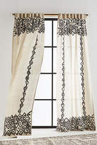 Anthropologie Beaded Pippette Curtain