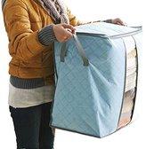 Mromick Storage Box Portable Organizer Non Woven Underbed Pouch Storage Bag Box