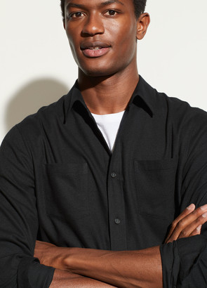 Vince Brushed Twill Long Sleeve