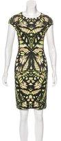 McQ Printed Knee-Length Dress