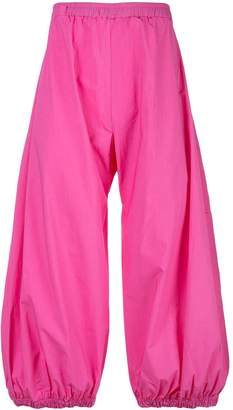 Barbara Bologna cropped flared trousers