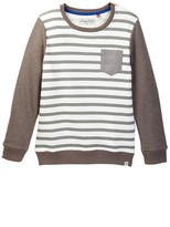 Sovereign Code Seen Striped Sweater (Big Boys)