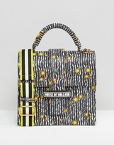 House of Holland Printed Stardust Lady H Bag