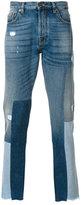 Valentino patchwork jeans - men - Cotton - 29