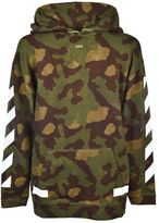 Off-White Diag Camouflage Hoodie