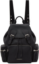Burberry Black Leather Rucksack