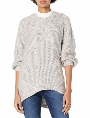 Somedays Lovin Women's Making Melody Cable Crew Neck Sweater