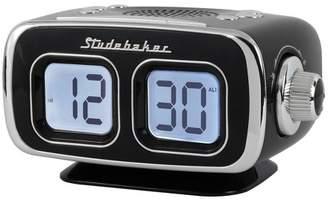Studebaker Retro Digital Bluetooth AM/FM Clock Radio (SB3500BK) - Black
