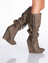 Victoria's Secret Colin Stuart Fringe Wedge Boot