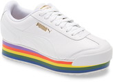 Puma Roma Amor Rainbow Platform Sneaker