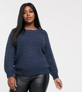 Junarose textured sweater