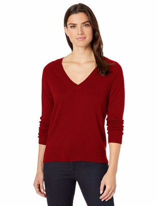 Pendleton Women's Merino V-Neck Pullover Sweater