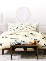 deny designs birds duvet set