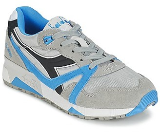 Diadora N9000 NYL women's Shoes (Trainers) in Grey