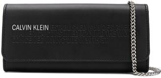 Calvin Klein logo chain wallet
