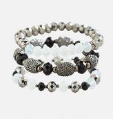 Avenue Mixed Bead Stretch Bracelet Set