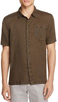 Blank NYC BLANKNYC Cotton-Linen Slim Fit Button-Down Shirt