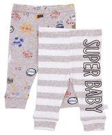 Rosie Pope® Baby Boy 2-Pack Superhero Pants