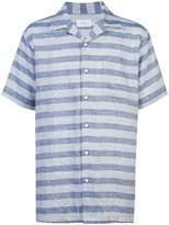 Onia Vacation striped chambray shirt