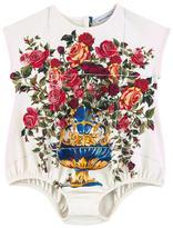 Dolce & Gabbana Printed onesie Caltagirone