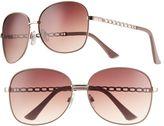 UNIONBAY Women's Glam Oversized Round Sunglasses