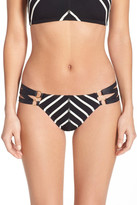 Robin Piccone Stripe Bikini Bottoms