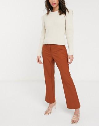 Selected Ada mid waist flared pant