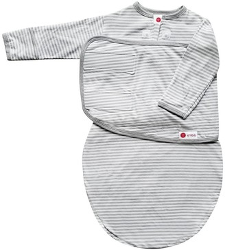 Embe embé Starter Long Sleeve Swaddle with Fold Over Mitts -