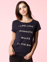 Signorelli I Like Romantics Walks Tee in Midnight