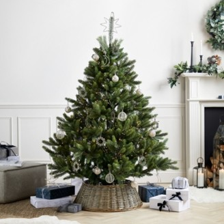 The White Company Symons Nordmann Fir Christmas Tree - 6ft, Green, One Size