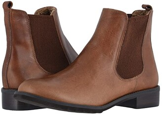 Walking Cradles Kendall (Chestnut Rustic Leather) Women's Boots