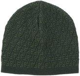 Fendi Signature knit beanie - men - Wool - One Size