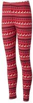 Juniors' Pink Republic Hatchi Knit Leggings