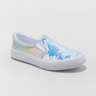 Cat & Jack Girls' Aliki Flip Sequin Slip-On Sneakers - Cat & JackTM