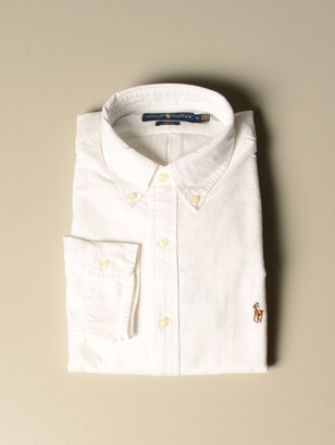 Polo Ralph Lauren Oxford Shirt In Cotton With Button Down Collar