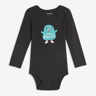 Joe Fresh Baby Boys' Graphic Print Bodysuit, JF Black (Size 12-18)