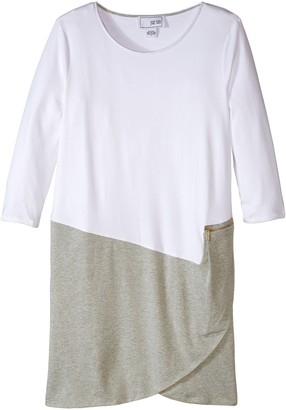 Joan Vass Women's Colorblock Dress