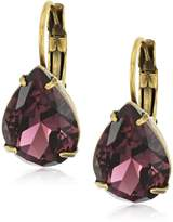 Sorrelli Pear Crystal Drop Earrings