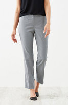 J. Jill Perfect Cotton-Stretch Houndstooth Ankle Pants
