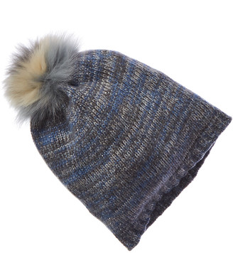 Portolano Cashmere Lurex Hat