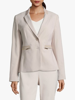 Betty Barclay Zip Pocket Blazer