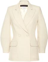 Martin Grant Double Breasted Diamond Sleeve Jacket