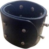 Maison Margiela Black Leather Bracelet