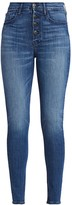 3x1 Poppy Exposed Button-Fly Skinny Jeans