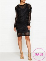 Vivienne Westwood Toga Drape Lace Dress